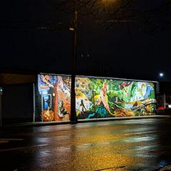 Mural lighting